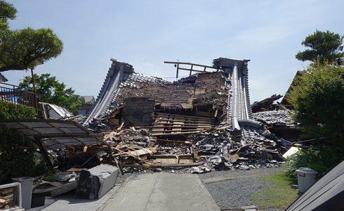 島根県松江市ルラクホーム熊本地震