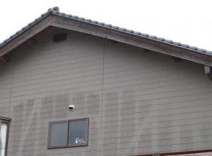 島根県松江市ルラクホーム外壁の汚れ