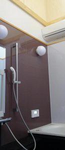 島根県松江市ルラクホームお風呂の天井がない