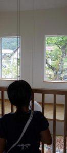 島根県松江市ルラクホーム2階窓