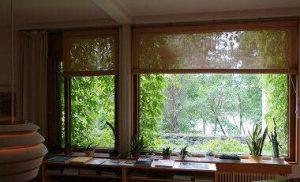 島根県松江市ルラクホーム窓からの景色