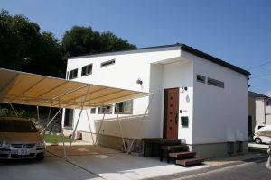 島根県松江市ルラクホーム白い家