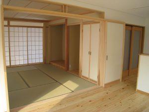 島根県松江市ルラクホーム和室