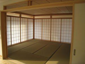 島根県松江市ルラクホーム畳の部屋