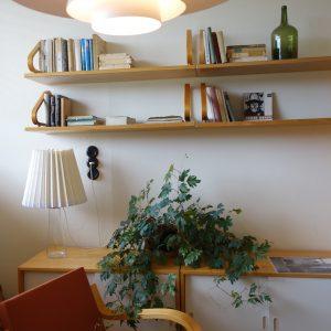 島根県松江市ルラクホーム書斎の机